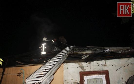 18 травня о 01:44 до Служби порятунку «101» надійшло повідомлення про пожежу на вул. Єгорова у м. Кропивницький.