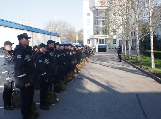 11 квітня особовому складу Управління та підпорядкованих підрозділів було оголошено сигнал «Збір-Аварія». Весь особовий склад прибув у визначені місця збору у встановлені терміни.