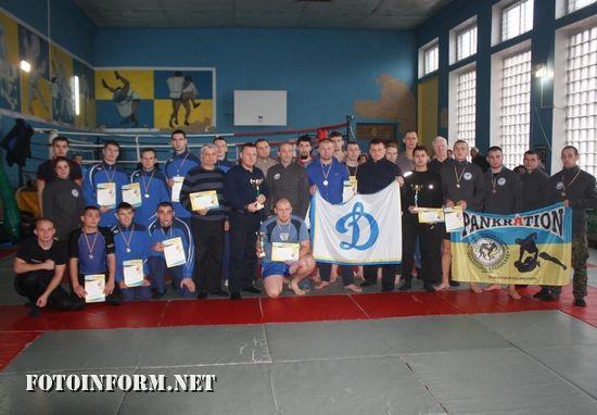 Кропивницький: рятувальники вибороли «золото» на змаганнях з панкратіону (ФОТО)