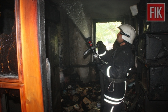 28 травня о 18:22 до Служби порятунку «101» надійшло повідомлення про пожежу в житловому будинку на вул. Кримській у м. Кропивницькому.