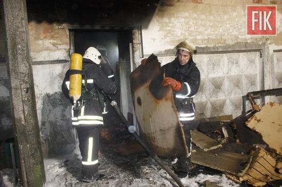 22 січня о 20:45 до Служби порятунку «101» надійшло повідомлення про пожежу на вул. Бєляєва м. Кропивницький.