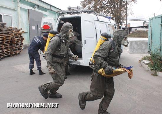 У Кропивницькому відбулися тактичні навчання
