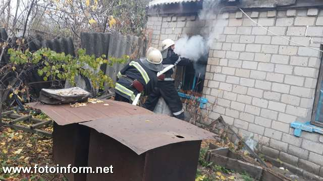 На Кіровоградщині під час гасіння пожежі у житловому будинку виявили тіло загиблої жінки