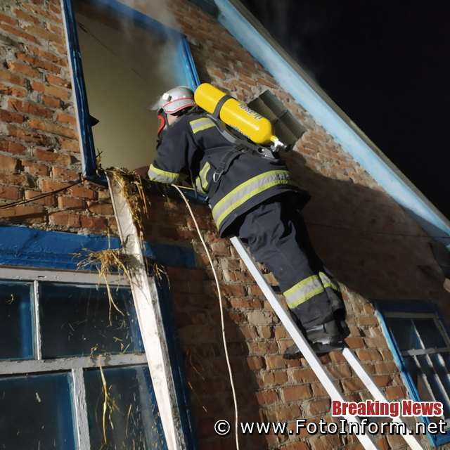Впродовж доби 2 червня пожежно-рятувальні підрозділи Кіровоградської області тричі залучались на гасіння пожеж різного характеру.