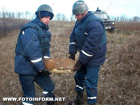На Кировоградщине обезвредили 10 беприпасов времен ВОВ