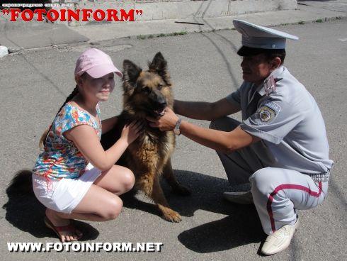 Міліціонери організували для учнів Кіровоградської школи-інтернату екскурсію (ФОТО)