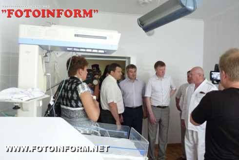 Голова облдержадміністрації Сергій Ларін відкрив у Голованівську центр надання перинатальної допомоги ІІ рівня (ФОТО)