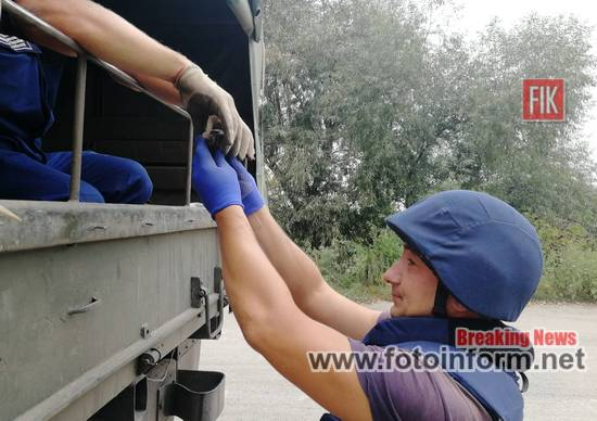 На Кіровоградщині саперами знищено гранату Ф-1