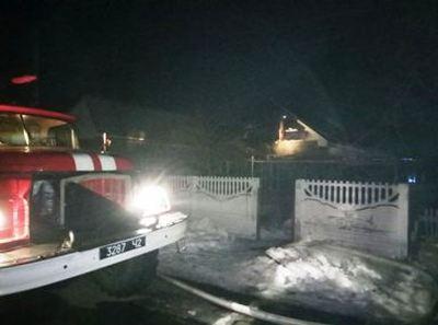 16 лютого о 20:39 до Служби порятунку «101» надійшло повідомлення про пожежу на вул. Воєводіна у м. Гайворон.
