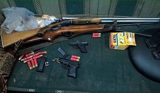 На Кіровоградщині СБУ вилучила арсенал зброї та вибухівку