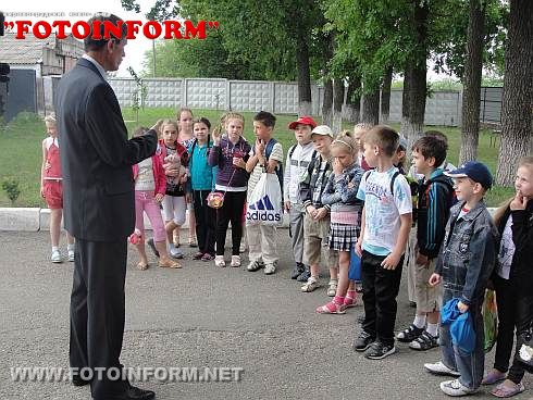 Экскурсия школьников в Кинологический центр (ФОТО)