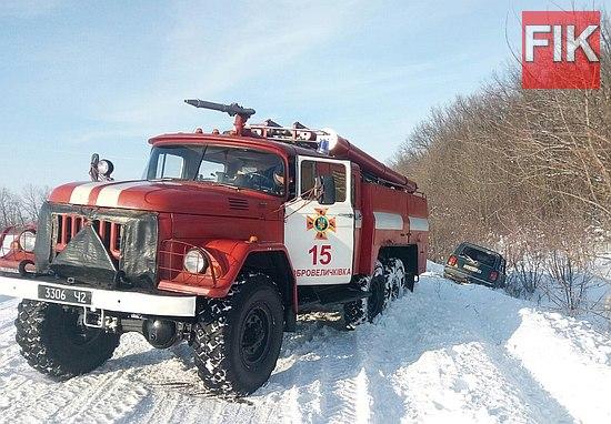 Кіровоградщина, рятувальники, допомогу водіям, кропивницький новини
