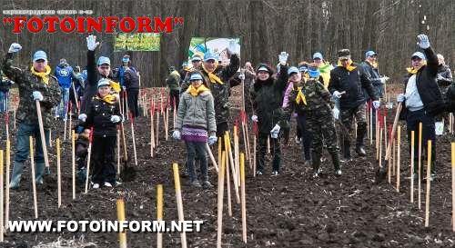 Приєднуйтеся до Акції «Майбутнє лісу у твоїх руках» - посадіть своє дерево!