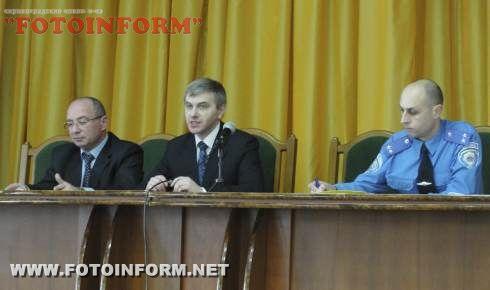 Представники ОВС та банківських установ обговорили питання організації охорони банків (ФОТО)