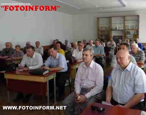 Кіровоград: Влада слухала ветеранів (ФОТО)