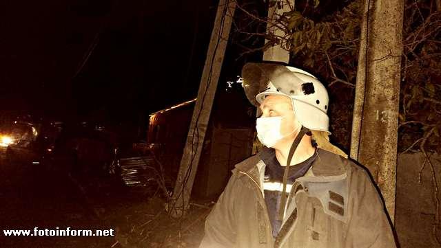 Оперативна інформація з місця подолання наслідків негоди у Кропивницькому (Фото)
