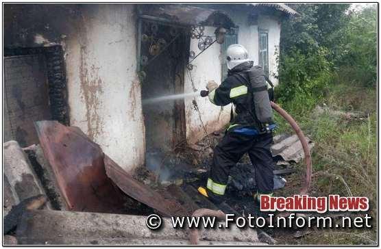 Впродовж минулої доби, на Кіровоградщині, 3 пожежі,