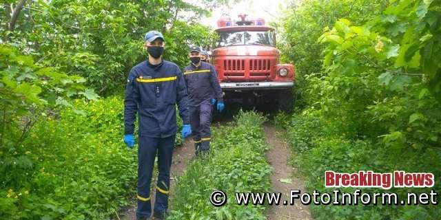 На Кіровоградщині патрулювали найбільш пожежонебезпечні лісові масиви