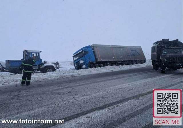 27-28 січня по місту Кропивницький та по Кіровоградській області спостерігалися складні погодні умови: сильний мокрий сніг, налипання мокрого снігу, на дорогах ожеледиця, вітер 9-14 м/с, температура повітря - 1º- - 2ºС.