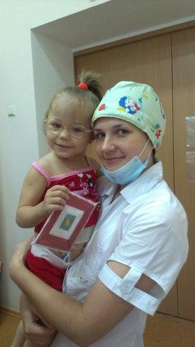 Мама троих детей из Новоукраинки просит помощи для своей 3-летней дочки, Богданочки Юрескул.