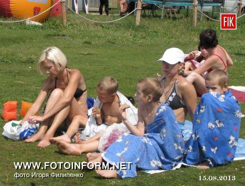 Кіровоград: виїзний брифінг на Новомиколаївському пляжі (ФОТО)