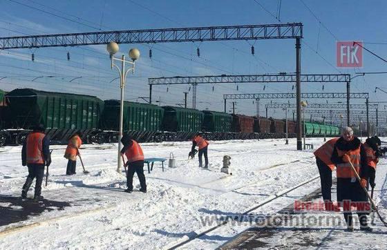 1,5 тис. залізничників, негода, на Одеській магістралі,