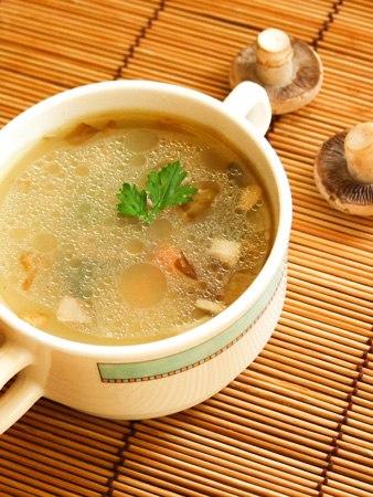 Замечательный грибной суп