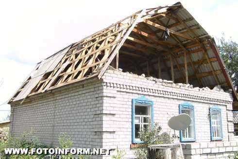 На Кіровоградщині негода залишила без світла більше 450 житлових будинків.