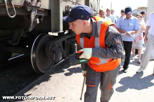 Кіровоградщина: депо станції Знам'янка у лідерах (фото)