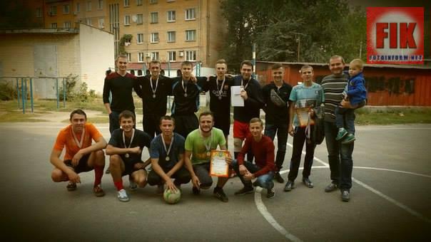 Біля гуртожитку №3 КДПУ імені В.Винниченка було проведено футбольний турнір.
