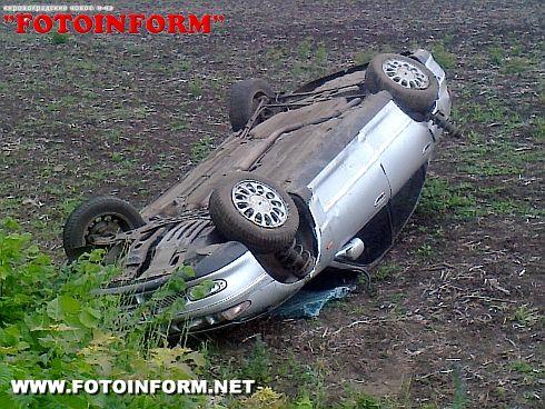 На Кіровоградщині в аварії загинув водій (ФОТО)