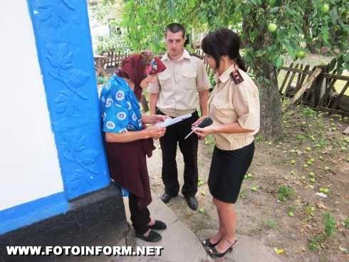 Кіровоградщина: профілактика пожеж у житловому секторі (фото)