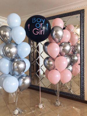 Воздушные гендерные шарики